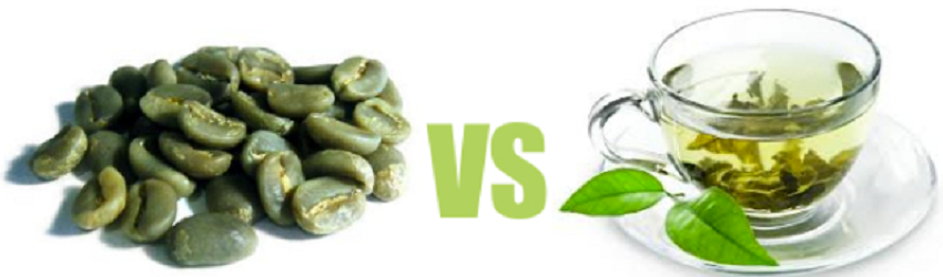 green coffee vs green tea for weight loss