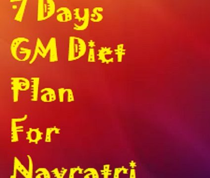 GM Diet For Indians During Navratri